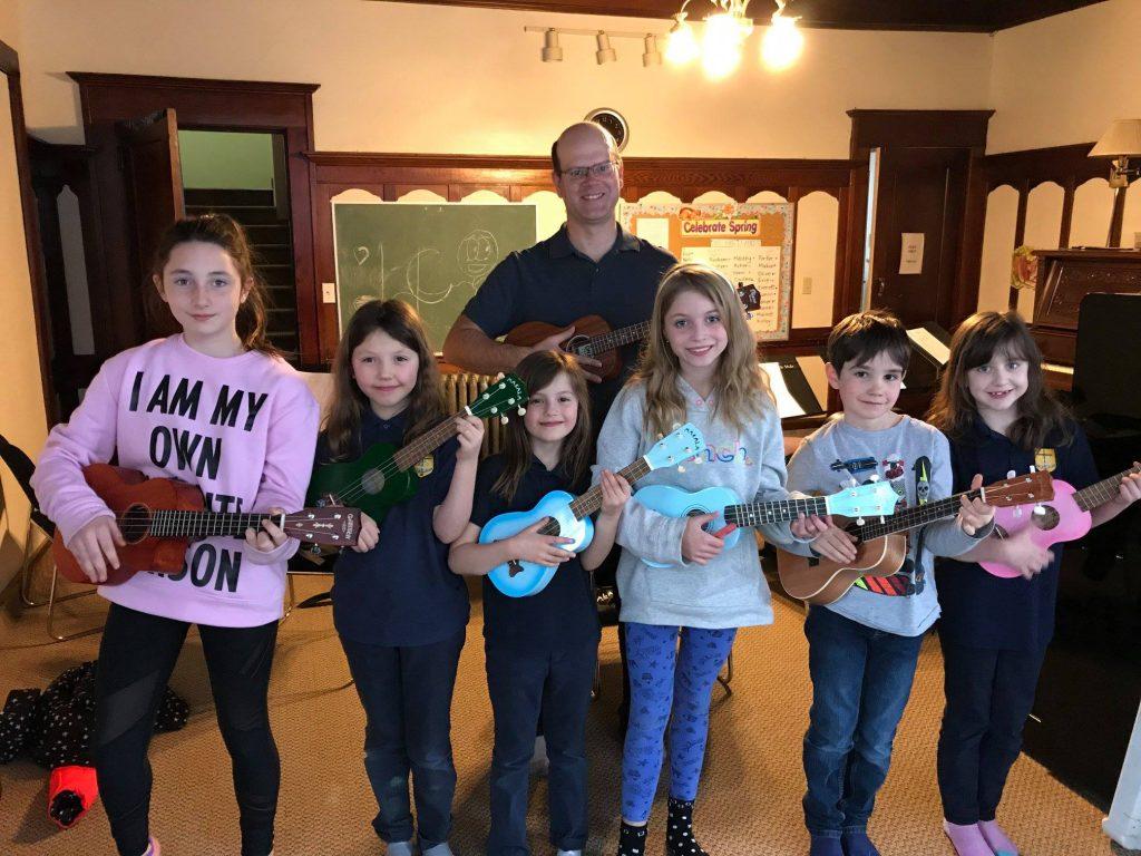 ukulele group for kids