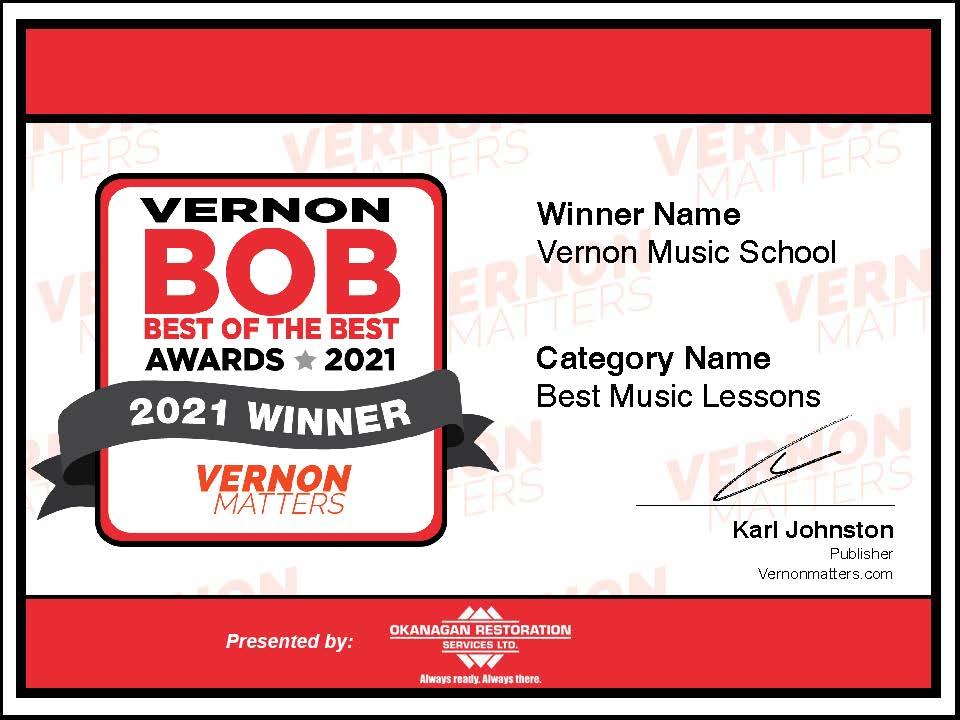 BOB award winner