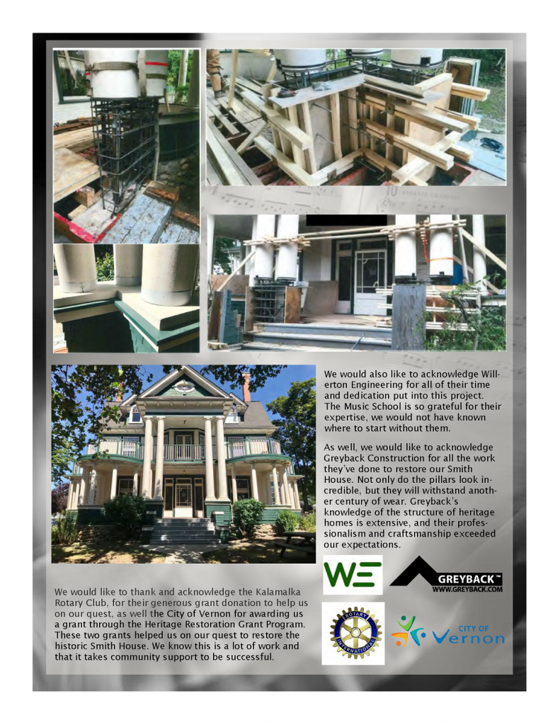 Page 6 of the Fall Newsletter