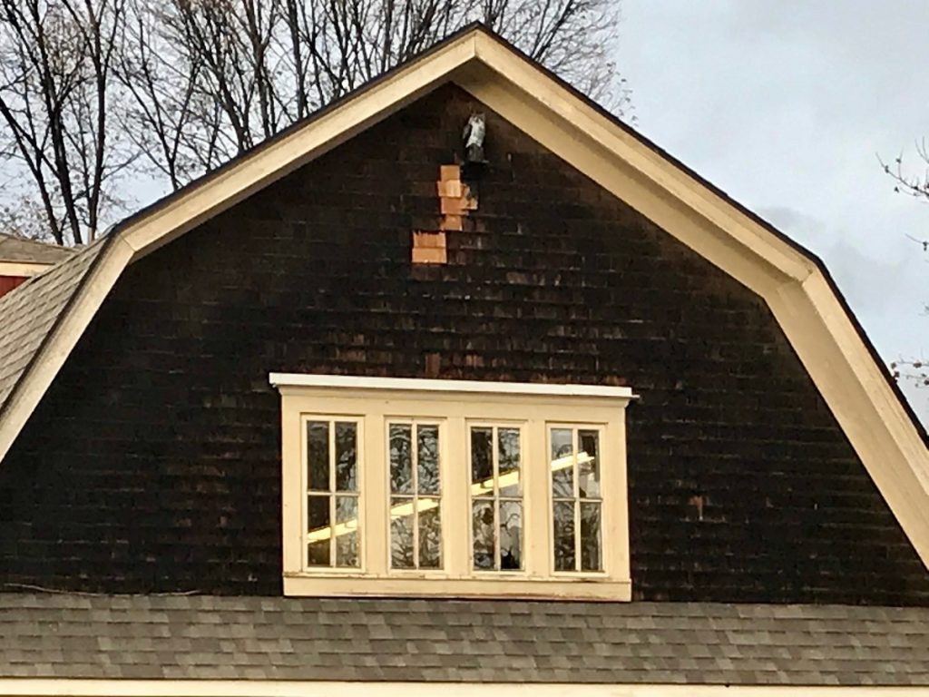 Gable Ends need replacing