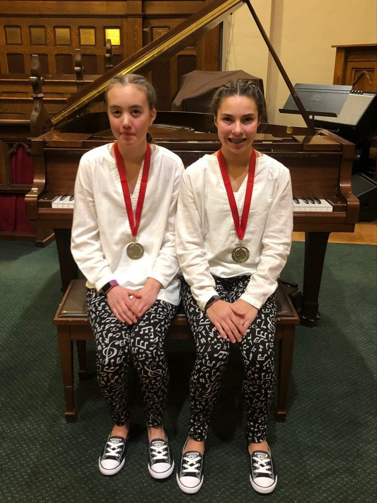 Students of Karen Rempel at the Vernon Music Festival