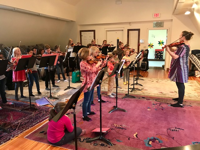 Group Violin Lessons for Kids