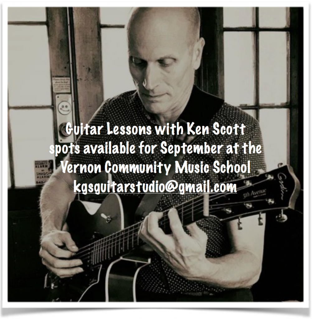 guitar lessons in Vernon BC with Ken Scott