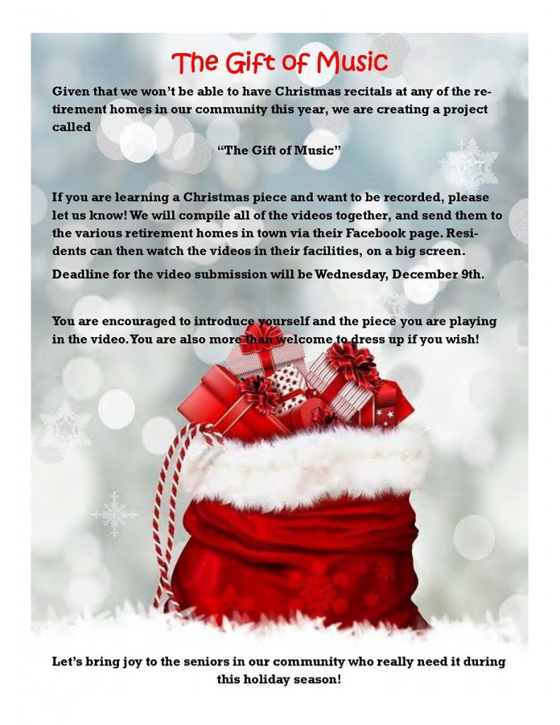 newsletter page 3 - The Gift of Music